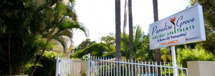 Paradise Grove Burleigh Heads Accommodation